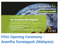 Opening Ceremony Duraiappah
