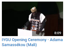 Opening Ceremony Samassekou