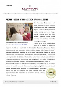 2016-11-22 Newsletterbeitrag Leuphana